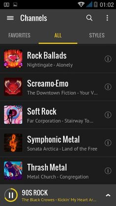 Scorpions Wind Of Change, Twisted Transistor, Black Stone Cherry, Butthole Surfers, Fear Factory, The Doobie Brothers, Rock Radio, Non Blondes, Megadeth