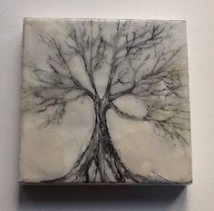 MioDesign. Ençaustic wax tree