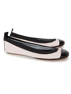 I heard so much about these flats, I'm considering buying a pair!  Yosi Samra Ballet Flat: Nude/Black