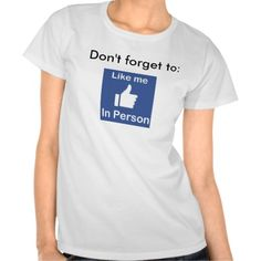 Like me in Person - Like me en Persona Tee Shirt