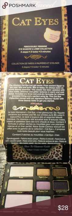 Too Faced Cat Eyes palette Brand new unused cat eyes palette! Gorgeous eyeshadow colors. If you have any questions feel free to ask! Too Faced Makeup Eyeshadow