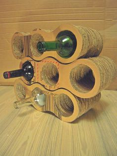 Wine Bottle Rack 9 bottles Esters and by GreenSpiritCreations, $140.00