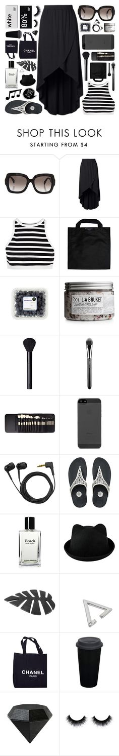 """""""Intelligence"""" by rockgirlfriend15 ❤ liked on Polyvore featuring Valentino, T By Alexander Wang, Black+Blum, L:A Bruket, NARS Cosmetics, MAC Cosmetics, Elite, Sennheiser, FitFlop and Bobbi Brown Cosmetics"""