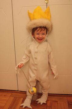I dressed as Max for Halloween in 2010, but I was nowhere near this cute. Love this.