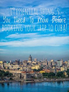Everyone has a point of view on Cuba, the Caribbean dream destination. 'Everyone' says that you should visit the country before it's too late to visit Havana and all the other charming old towns in cuba