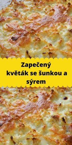 Czech Recipes, Ethnic Recipes, Lasagna, Food And Drink, Cooking Recipes, Diet, Recipies, Chef Recipes, Lasagne