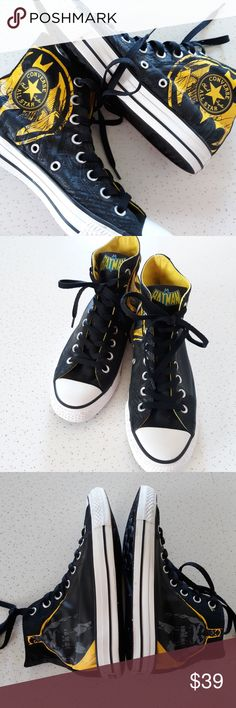 d9941ba27 Converse All Star DC Comics Batman high tops size  men s 6.5 women s 8.5  (unisex