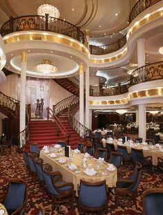 Royal Caribbean Mariner of the Seas three-level dining room