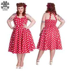 Hell Bunny Mariam Red Polka Dot Prom Wedding Pin Up 50's Dress Plus Size 18 22 | eBay