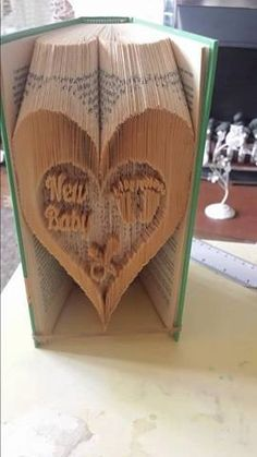 To complete this fold you will need a book with at least 526 pages. It is based on a book of 21 cms in height and is the combination method.  Any books made using this pattern may be sold but please do not sell or share my pattern.  Any questions please get in touch.