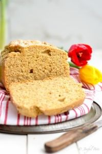 This bread is going to rock your world! It's the five minute solution to all your problems!! Ok, maybe that's an exaggeration, but it's seriously a life saver! Having a yummy bread recipe on hand is one of the keys to paleo diet success! When the craving for a good old fashion homemade loaf...