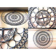 Drátenictví - kurz ve skanzenu Přerov nad Labem / Zboží prodejce verka Wire Art, Metal Working, Projects To Try, Miniatures, Tapestry, Sculpture, Art Floral, Iron, Craft