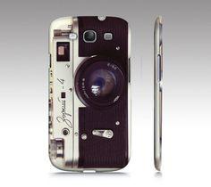 Samsung Galaxy S3 case, Samsung Galaxy S3, vintage camera, Galaxy case, skin, cover, Zorki camera, bomobob, rangefinder, Galaxy S3 accessory
