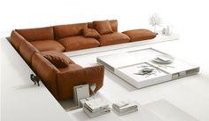 Cor-Polstermöbel bei Wohnhaus Sengfelder in Schwabhausen... via Designchen
