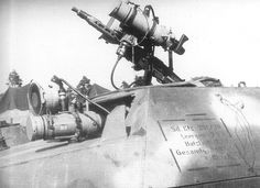 """German Production IR based night vision for the driver and gunner- """"Vampyr"""""""