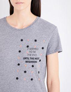 VALENTINO Star Beginning cotton-jersey T-shirt