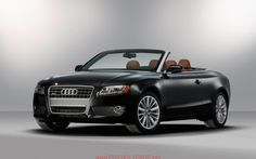 awesome 2013 audi a5 convertible car images hd 2012 Audi A5 Cabriolet Tfsi Rear Three Quarter Top Down Photo 6