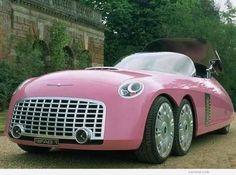 Lady Penelope's car: The Thunderbirds