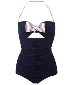 Adorable Mimi Ruched-Front Swimsuit