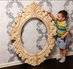 Рама для зеркала резная#1 – купить в интернет-магазине на Ярмарке Мастеров с доставкой