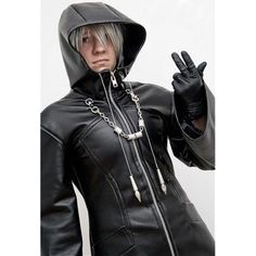 """OMU STYLE decides to empower the power of every ordinary and unordinary Man & Woman! For that, we have decided to let our customers avail this tremendous """"Kingdom Hearts Organization XIII Black Trench Coat"""". This coat is made up of best quality Faux Leather along with an inward covering of viscose lining. This is the most comfortable and most durable outfit ever!"""