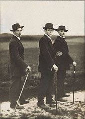Young Farmers, August Sander, 1914. © J. Paul Getty Trust