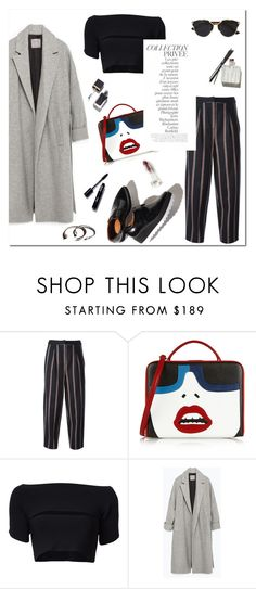 """""""Untitled #780"""" by mjangirashvili ❤ liked on Polyvore featuring Elizabeth and James, Mark Cross, T By Alexander Wang, By Terry, Zara, Christian Dior and Garance Doré"""