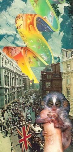 Untitled Collage #1 by Jesse Treece $215.00