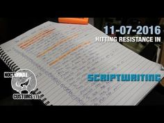 Film Making Advice: Smashing down the wall of resistance in Scriptwriting - Film Making, Stay Fit, Advice, Tutorials, Goals, Keep Fit, Tips, Fit Bodies, Teaching