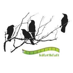 Katzelkraft Vögel auf Ast