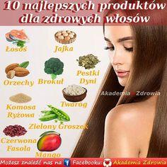 10 najlepszych produktów dla zdrowych włosów - Zdrowe poradniki Snack Recipes, Snacks, Nutella, Mango, Chips, Diet, Snack Mix Recipes, Manga, Appetizer Recipes