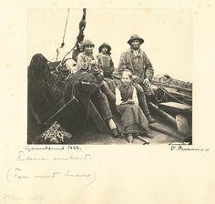 Fisherman family, Grundsund, Sweden, via Flickr.