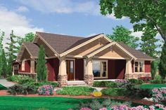 Craftsman Style House Plan - 3 Beds 2 Baths 1891 Sq/Ft Plan #48-415