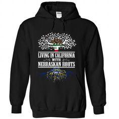 I May Live in California But I Was Made in Nebraskan - #raglan tee #sweatshirt tunic. BUY-TODAY => https://www.sunfrog.com/States/I-May-Live-in-California-But-I-Was-Made-in-Nebraskan-phmmekplbz-Black-Hoodie.html?60505