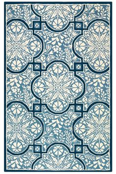 Avignon Area Rug II from Home Decorators - 8' Round for $388 + 50 shipping - Kerry Blue
