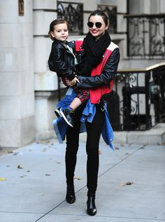 Miranda Kerr and her son, Flynn, are always so stylish!