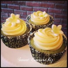 Cupcake Matsha Choco Blanc