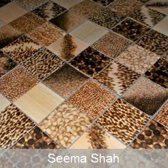 Seema Shah - Wooden Tiles