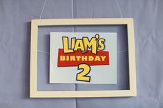 Keepin it Boy: Liam's Toy Story 2nd Birthday