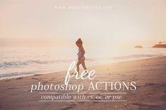 Free Photoshop Actions for CC, CS, & Elements! | www.morganburks.com