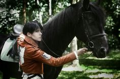 Levi Ackerman, Levi X Eren, Cosplay Levi, Anime Cosplay, Attack On Titan Jean, Easy Landscape Paintings, Attack On Titan Aesthetic, Mini Comic, Bendy And The Ink Machine