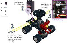 Robot Arduino: Robot Arduino Scratch S4A Lego Technic 9390