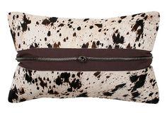 Ida 12x20 Cotton Pillow, Coffee on OneKingsLane.com #thro