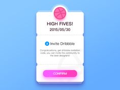 Two Dribbble Invite by ruki - Dribbble