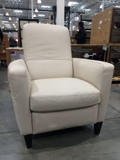 Costco Sale True Innovations Leather Glider Recliner 319