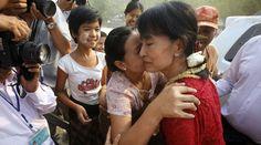 Suu Kyi- She is amazing...