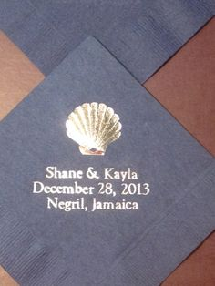 200 beverage napkins personalized beverage with your by JKimprints, $46.00 200 beverage napkins personalized beverage with your by JKimprints, $46.00 www.jkimprints.com