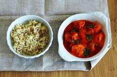 Can't go wrong with indian butter chicken!
