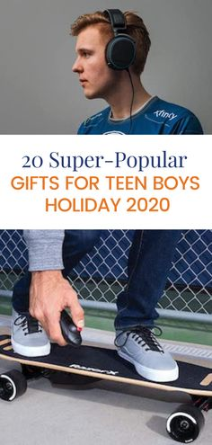 Our list of the most popular gifts fteen boy this holiday season. Popular Gifts For Teens, Gifts For Teen Boys, High School Life, College Life, Raising Teenagers, Get Well Gifts, Kids Growing Up, Teen Life, Parenting Teens