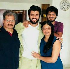 Vijay devarakonda and his family Ilayathalapathy Vijay, Telugu Hero, Vijay Actor, Blur Photo Background, Actors Images, Indian Celebrities, Photo Editing, Handsome, Celebs
